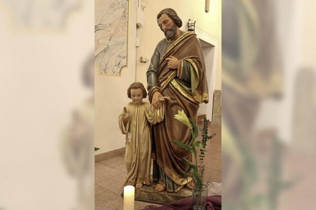 Die Heilige Familie ist in Münchweier wieder vereint