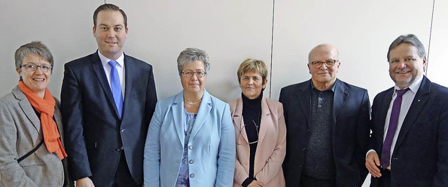 Marianne Würth, Felix Schreiner, Sabin...die Bedeutung der Hans Carossa Klinik.  | Foto: Andreas Mahler