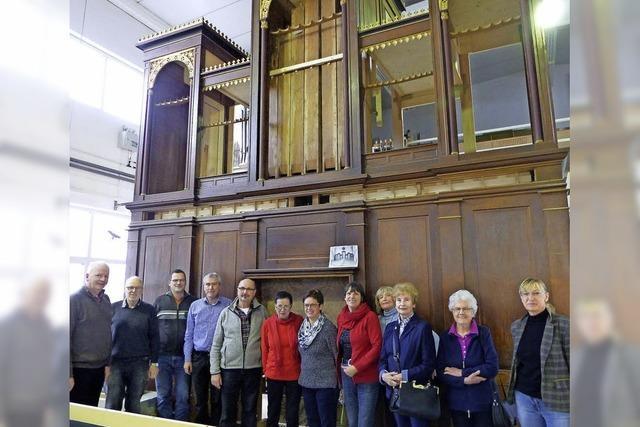 Die Sanierung der Orgel kommt voran