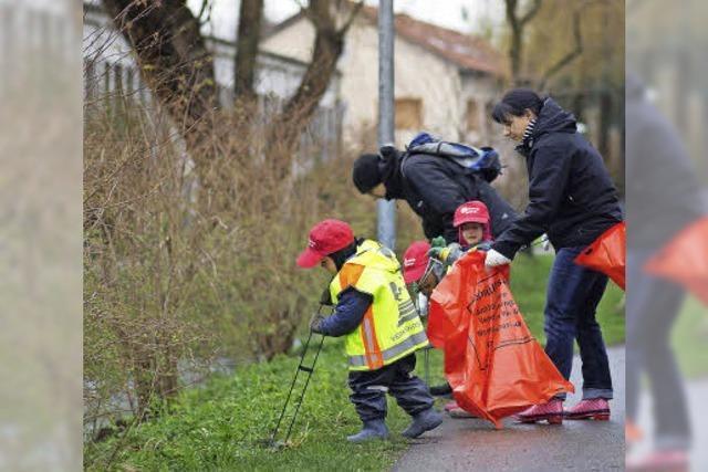 Tolle Beteiligung: 670 Helfer machen sauber in den Quartieren