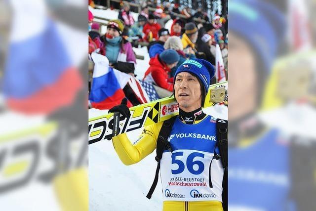 500. Weltcupskispringen von Noriaki Kasai