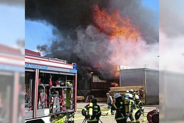 Viele Einsätze - die Feuerwehr stößt an ihre Grenzen