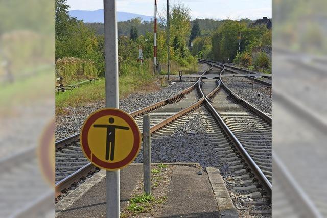 Beinahe-Crash im Bahnhof in Gottenheim