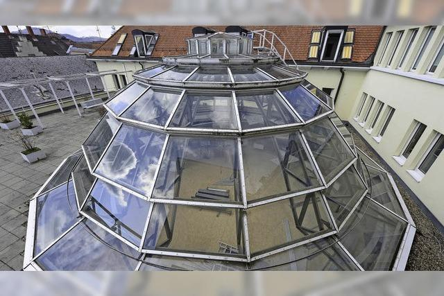 Glaskuppel im Atrium: unwirtschaftlich oder erhaltenswert?