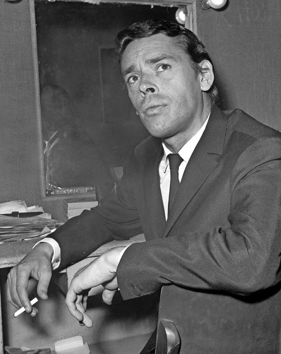 Jacques Brel 1966 bei seinem letzten Auftritt im Pariser Olympia  | Foto: AfP