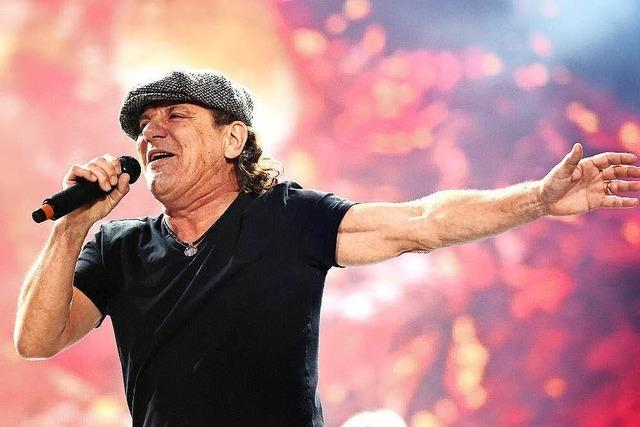 AC/DC-Sänger droht Gehörverlust – Tournee abgesagt