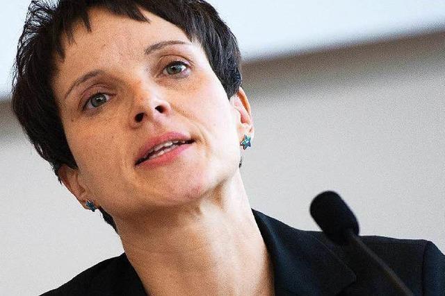 Wo tritt Frauke Petry in Breisach auf? Das steht jetzt fest