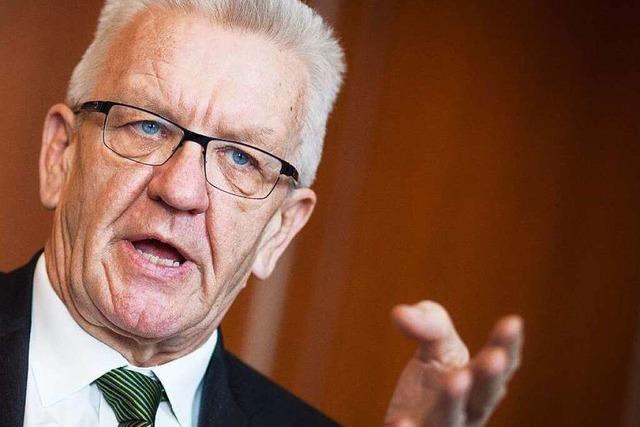 Kretschmann kommt zum BZ-Dialog in Lahr