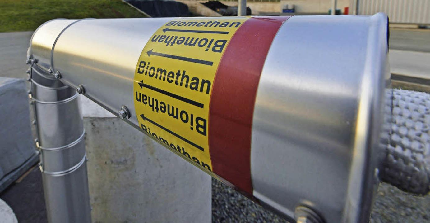 Eine Power-to-Gas-Anlage auf Basis ein...eiht, um Wasserstoff zu produzieren.    | Foto: dpa/Uwe Zucchi