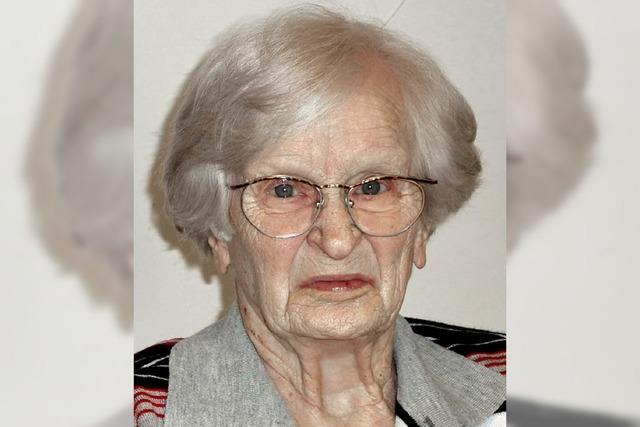 Lieselotte Henkel wurde 95