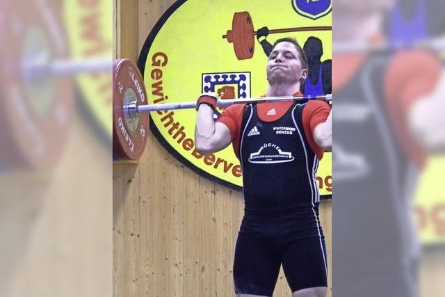 Gewichtheber dominieren