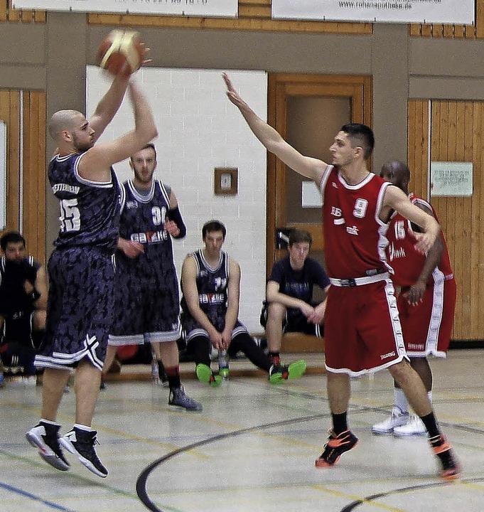 <BZ-FotoAnlauf>BASKETBALL: </BZ-FotoAn...en TB Emmendingen sicher auf Distanz.   | Foto:  Verein