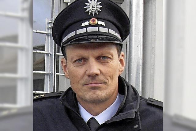 Er ist jetzt Polizeidirektor