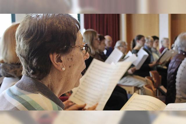 Kirchenchor St. Peter verfolgt in Zukunft ehrgeizige Ziele