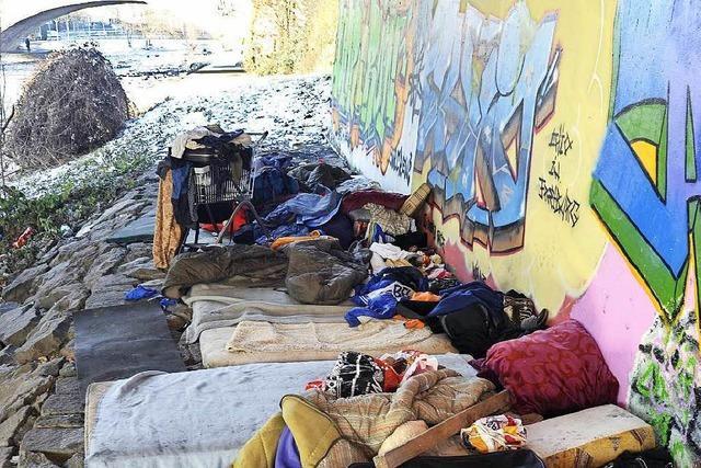 Stadt Freiburg will mehr Übernachtungsmöglichkeiten für obdachlose Menschen