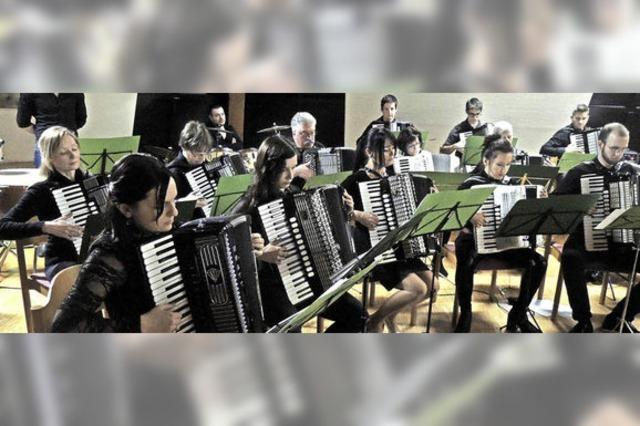 Ein Triplekonzert mit Gesang