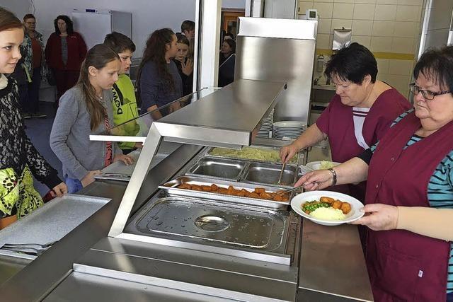 Essen für 144 Schüler in zwei Schichten möglich