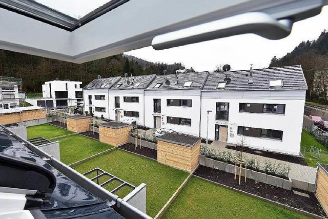 Günterstal: Stadtbau hat sechs von 15 Reihenhäusern verkauft