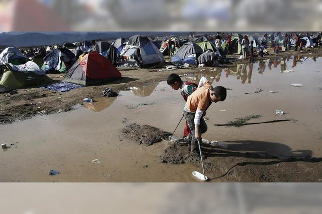 EU will mit Türkei Pakt schließen, um Flüchtlingsandrang zu reduzieren