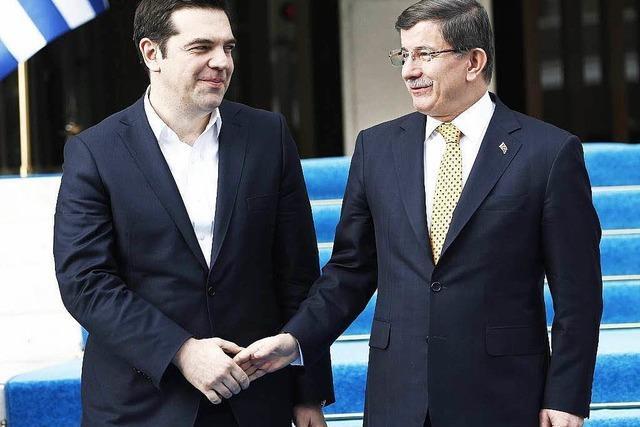 Historisches Treffen: Tsipras reist in die Türkei