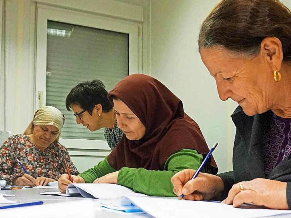 Deutschunterricht wird oft ehrenamtlich erteilt  | Foto: Privat