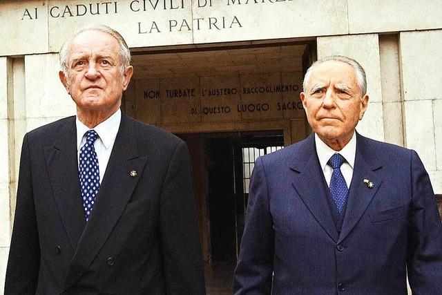 Entrüstung in Italien: Ehrenmedaille für deutschen Kriegsverbrecher