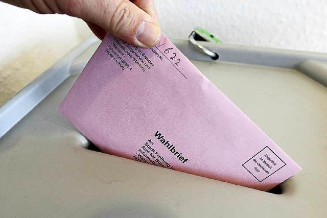 In Freiburg wird eine hohe Wahlbeteiligung erwartet