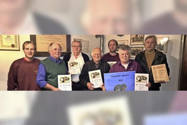 Kleintierzüchter feiern 50 Jahre