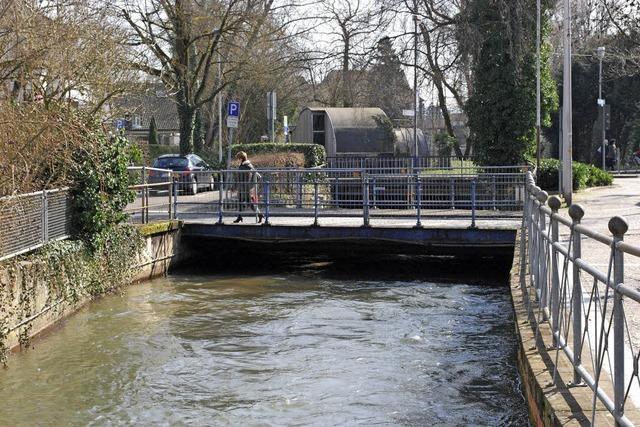 Die Brücke wird erneuert