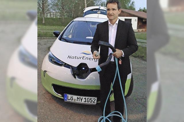 Turbo für die E-Autos in Hänner