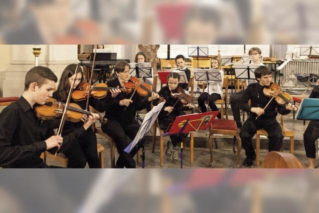 Junge Talente mit klassischer Musik