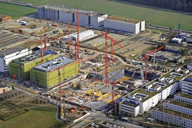 Roche investiert eine Milliarde Franken in Kaiseraugst