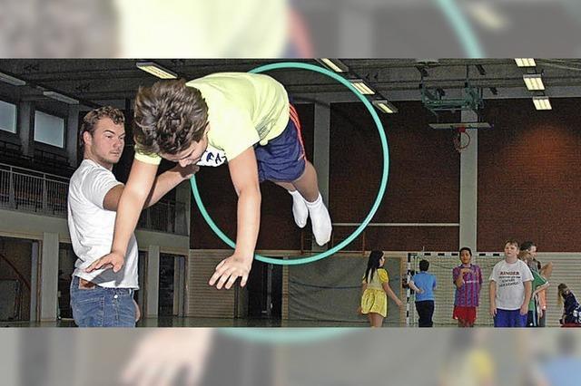 Zirkusprojekt begeistert die Schüler