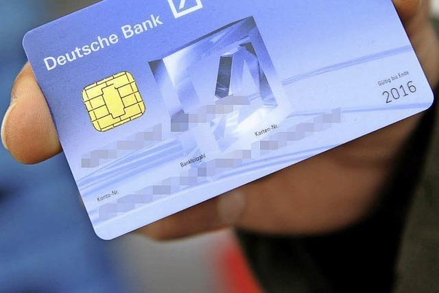 Das Land geht bei der Geldkarte voran