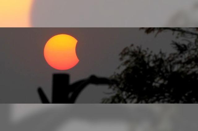 Wenn der Mond sich vor die Sonne schiebt...