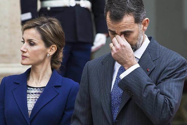 Königin Letizia unterstützt korruptionsverdächtigen Freund