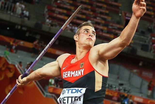 Speerwerfer-Talent Johannes Vetter: