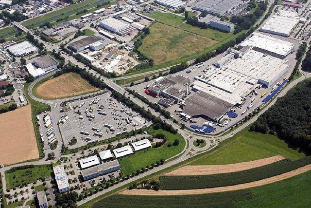 Millioneninvestition: Edeka plant Riesenlager in Achern