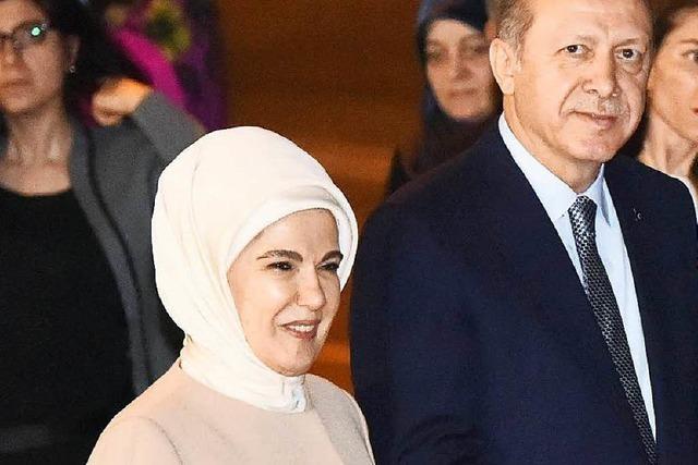Erdogans Frau: