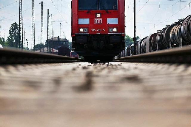 Die Bahn baut weitere Lärmschutzwände in Lahr