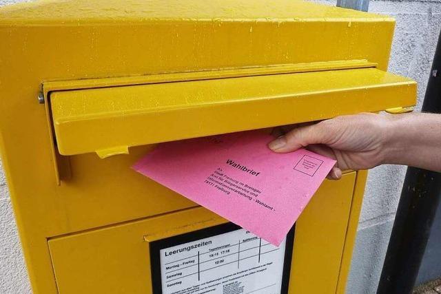 Immer mehr Menschen nutzen die Briefwahl