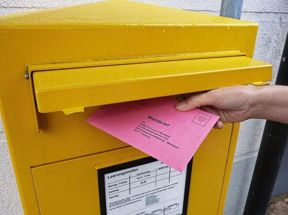 Abstimmen per Briefwahl liegt im Trend...Landtagswahl vielerorts mehr denn je.   | Foto: Archivfoto: Sattelberger
