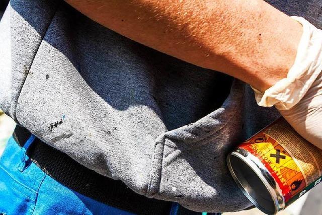 Polizei erwischt Sprayer auf Streifzug durch die Wiehre – mit Sprühdose und Marihuana