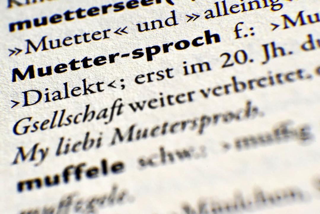 Enge Verwandte mit großen Unterschieden: die Dialekte im Dreiland   | Foto: dpa