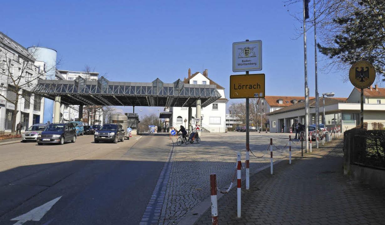 Im Bereich Zoll in Lörrach-Stetten/Rie...s Gebiet städtebaulich neu gestaltet.     Foto: Nikolaus Trenz