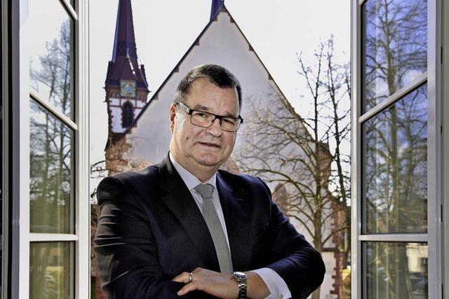 Bürgermeister Matthias Guderjan will dritte Amtsperiode
