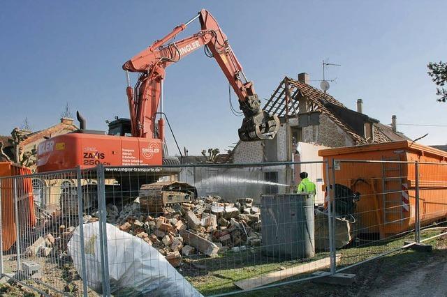 Flüchtlingsunterkunft wird abgerissen - Neubau folgt
