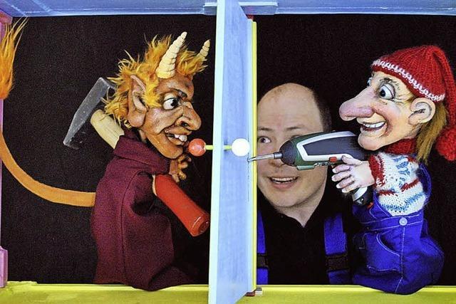 Das Marotte Figurentheater gastiert im Vorderhaus Freiburg