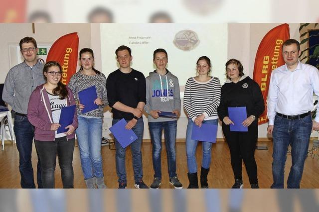 Rettungsschwimmer begrüßen neuen Hallenbad-Förderverein