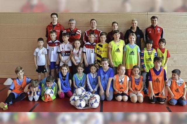 Profi-Schulung für Fußballnachwuchs